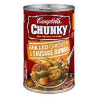 Campbell's Chunky Soup Grilled Chicken & Sausage Gumbo 18.8oz Can product image