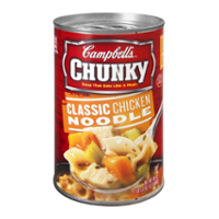 Campbell's Chunky Soup Classic Chicken Noodle 18.6oz Can