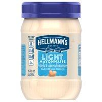Hellmann's Mayonnaise Light 15oz Jar