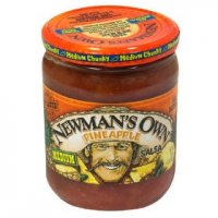 Newman's Own All-Natural Pineapple Salsa Chunky Medium 16oz Jar