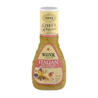Ken's Steak House Dressing Italian with Garlic & Asiago 9oz BTL