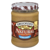 Smucker's Natural Peanut Butter Creamy 16oz Jar product image