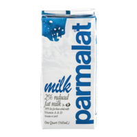 Parmalat Long Life Milk 2% Reduced Fat 1QT CTN product image