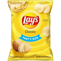 Lay's Potato Chips Classic Party Size 13.75oz Bag product image