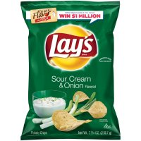 Lay's Potato Chips Sour Cream & Onion 9.5oz Bag