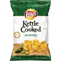 Lay's Kettle Cooked Chips Jalapeno 8.5oz Bag product image