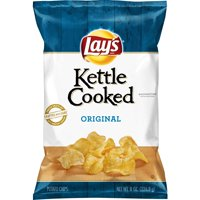 Lay's Kettle Cooked Chips Original 8oz Bag product image