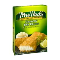 Mrs. Paul's Fish Fillets Crunchy 6CT 11.4oz. Box