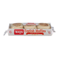 Bays English Muffins Original 6CT 12oz PKG