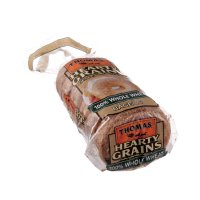 Thomas' Bagels Hearty Grains 100% Whole Wheat 6CT 20oz PKG