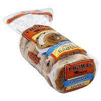 Thomas' Bagels Blueberry 6CT 20oz PKG