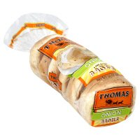 Thomas' Bagels Onion 6CT 20oz PKG