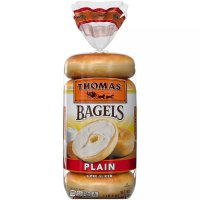 Thomas' Bagels Plain 6CT 20oz PKG