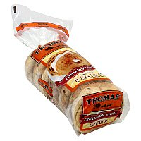 Thomas' Bagels Cinnamon Swirl 6CT 20oz PKG