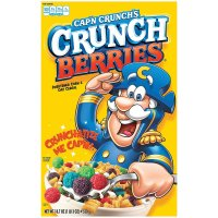 Quaker Cap'n Crunch Cereal Crunch berries 18.7oz Box