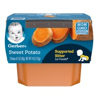 Gerber 1st Foods Sweet Potatoes All Natural  2.5oz 2PK