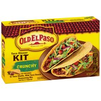 Old El Paso Dinner Kit Crunchy Tacos 12CT 8.8oz Box