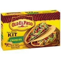 Old El Paso Dinner Kit Crunchy Tacos 12CT 8.8oz Box