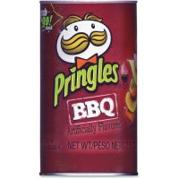 Pringles Potato Crisps Barbecue Grab & Go! Stack 2.5oz
