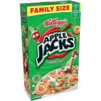 Kellogg's Apple Jacks Cereal Value Size 21.7oz Box