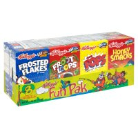 Kellogg's Cereal Fun Pak 8CT 8.56oz Total