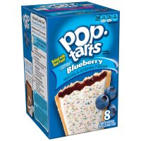 Kellogg's Pop-Tarts Frosted Blueberry 8CT 14.7oz Box product image