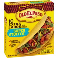 Old El Paso Taco Shells Super Stuffers Size 10CT 6.6oz Box