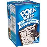 Kellogg's Pop-Tarts Frosted Cookies & Creme 8CT 14.1oz Box product image