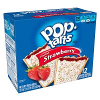 Kellogg's Pop-Tarts Frosted Strawberry 12CT 22oz Box