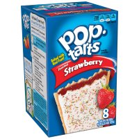 Kellogg's Pop-Tarts Frosted Strawberry 8CT 14.7oz Box product image