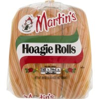 Martin's Hoagie Rolls Unseeded 6CT 20oz PKG product image