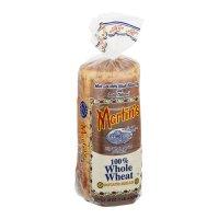 Martin's Potato Bread 100% Whole Wheat 20oz PKG