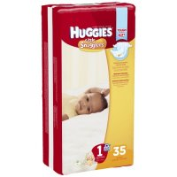 Huggies Little Snugglers Diapers Size 1 (8-14LB) Jumbo 35CT PKG