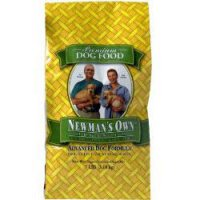 Newman's Own Advanced Formula Dry Dog Food Chicken & Rice Formula Organic Active or Senior Dogs 7LB Bag
