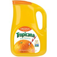 Tropicana Pure Premium Original Orange Juice No Pulp 89oz Jug