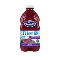 Ocean Spray Diet Cranberry Grape Juice Beverage 64oz BTL
