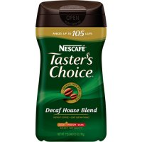 Nescafe Tasters Choice Instant Coffee Decaffeinated House Blend 7oz Jar