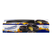 Entenmann's Chocolate Rich Frosted Donuts 8CT 15oz Box