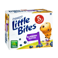 Entenmann's Little Bites Muffins Blueberry 5PK 8.25oz Box