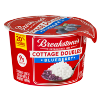 Breakstone's Cottage Cheese Doubles Blueberry 4.7oz product image