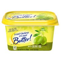 I Can't Believe It's Not Butter With Olive Oil 15oz Tub