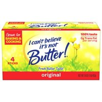 I Can't Believe It's Not Butter Sticks 4 Quarters 1LB Box