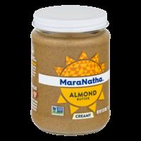 MaraNatha Almond Butter Creamy 12oz Jar product image