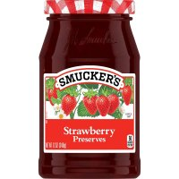 Smucker's Preserves Strawberry 12oz Jar