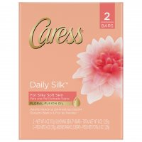 Caress Moisturizing Body Bars Daily Silk 2PK of 4oz Bars