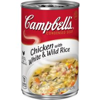 Campbell's Condensed Soup Chicken with White & Wild Rice 10.5oz Can