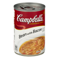 Campbell's Condensed Soup Bean with Bacon 11.5oz Can product image
