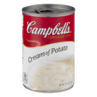 Campbell's Condensed Soup Cream of Potato 10.5oz Can product image