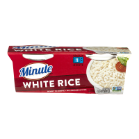 Minute Ready To Serve White Rice Mix 2CT 4.4oz EA 8.8oz PKG