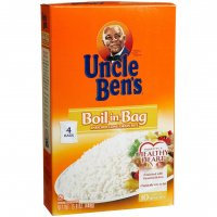 Uncle Ben's Boil-In-Bag Rice Enriched Long Grain 3.95oz EA 4CT 15.8oz Box